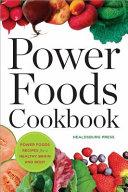 Power Foods Cookbook Book PDF