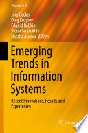 Emerging Trends In Information Systems Book PDF