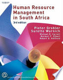 """Human Resource Management in South Africa"" by P. A. Grobler"
