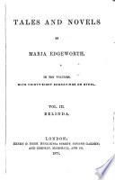 Tales and Novels  Belinda Book