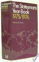 The Statesman s Year Book 1975 76