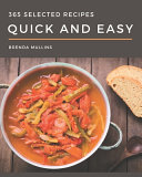 365 Selected Quick And Easy Recipes