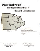 Water Infiltration Into Representative Soils of the North Central Region Book