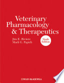 Veterinary Pharmacology and Therapeutics
