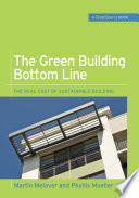 The Green Building Bottom Line  GreenSource Books  Green Source  Book