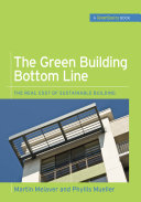The Green Building Bottom Line  GreenSource Books  Green Source