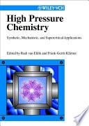 High Pressure Chemistry Book PDF