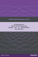 Introduction to Human Factors Engineering  Pearson New International Edition