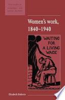 Women s Work  1840 1940