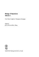 Biology of Depression