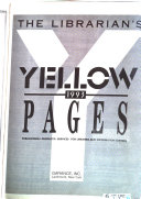 The Librarian s Yellow Pages