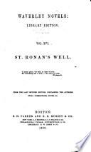 St  Ronan s well