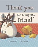 Thank You for Being My Friend  book and Soft Toy Gift Set
