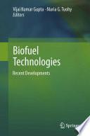 Biofuel Technologies Book PDF