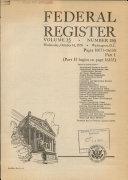 Pdf Federal Register