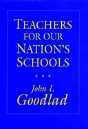 Teachers for Our Nation s Schools  Cloth Edition