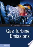 Gas Turbine Emissions Book
