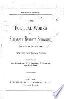 The Poetical Works of Elizabeth Barrett Browning  : Complete in One Vol