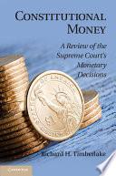 Constitutional Money