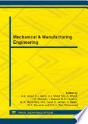 Mechanical Manufacturing Engineering Book PDF