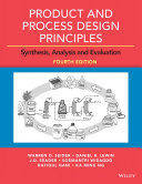Product and Process Design Principles Book