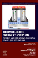 Thermoelectric Energy Conversion Book