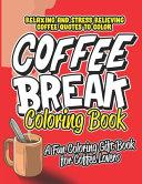 Coffee Break Coloring Book