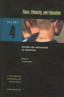 Race Ethnicity And Education Racism And Antiracism In Education Book