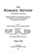 Romanic Review