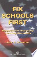 Fix Schools First Book PDF