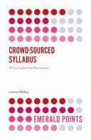 Crowd Sourced Syllabus