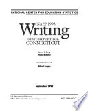 NAEP     Writing Report for Connecticut