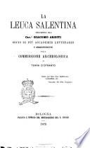 La Leuca salentina descritta dal cav. Giacomo Arditi
