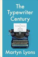Pdf The Typewriter Century Telecharger