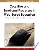 Cognitive and Emotional Processes in Web Based Education  Integrating Human Factors and Personalization