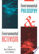 Environmental Philosophy and Environmental Activism