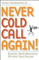 Never Cold Call Again Pdf/ePub eBook