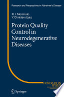 Protein Quality Control in Neurodegenerative Diseases