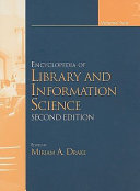 Encyclopedia Of Library And Information Science Second Edition