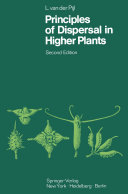 Pdf Principles of Dispersal in Higher Plants Telecharger