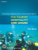 Human Resource Management for Tourism, Hospitality and Leisure