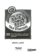 Quick Quiz Talk Starters