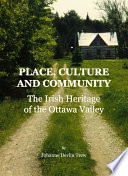 Place  Culture and Community Book PDF