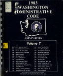 Washington Administrative Code