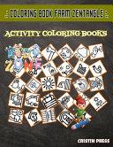 Coloring Book Farm Zentangle