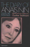The Diary of Anaïs Nin, 1939–1944 Pdf/ePub eBook