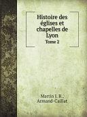 Pdf Histoire des ?glises et chapelles de Lyon Telecharger