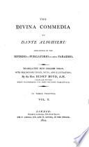 The Divina Commedia of Dante Alighieri