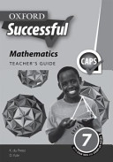 Books - Oxford Successful Mathematics Grade 7 Teachers Guide | ISBN 9780199056767