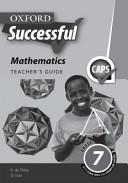 Books - Oxford Successful Mathematics Grade 7 Teachers Guide | ISBN 9780199056767